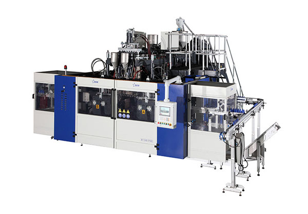 lubricating oil blow molding machine
