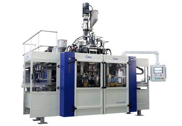 pharmaceutical pesticide blow molding machine