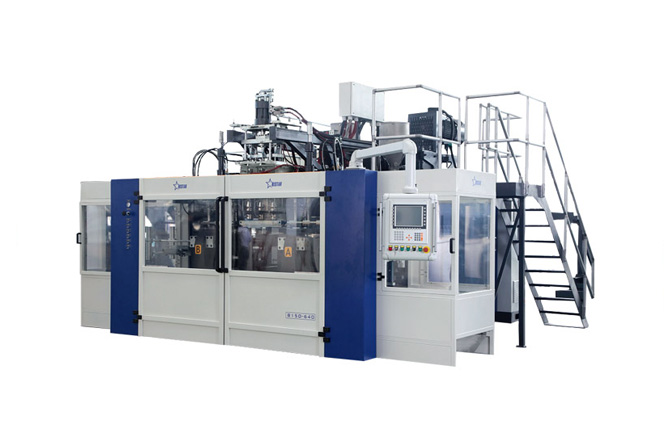 Blow Molding Machine B15D-560 (2 Stations 4 Cavities)