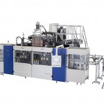Blow Molding Machine B20D-750 (2 Stations 3 Cavities)