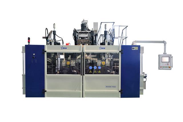 Blow Molding Machine B20D-750(2 Stations 2 Cavities)