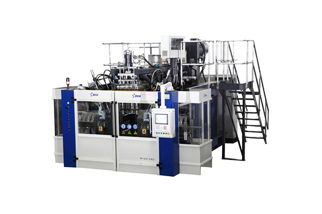 Blow Molding Machine B10D-560 Oblique (2 Stations 4 Cavities)