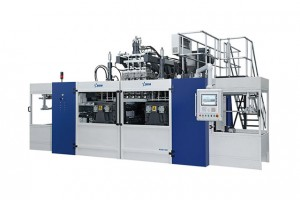 Blow molding machine B15D-640(2 stations 16 caivities 16 + 16)