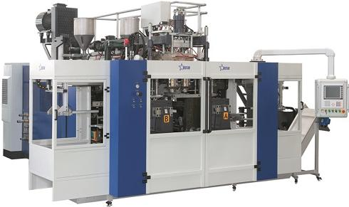 Hollow blow molding machine