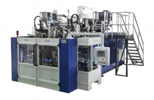 B25D-900 Stacking Barrel Extrusion Blow Molding Machine
